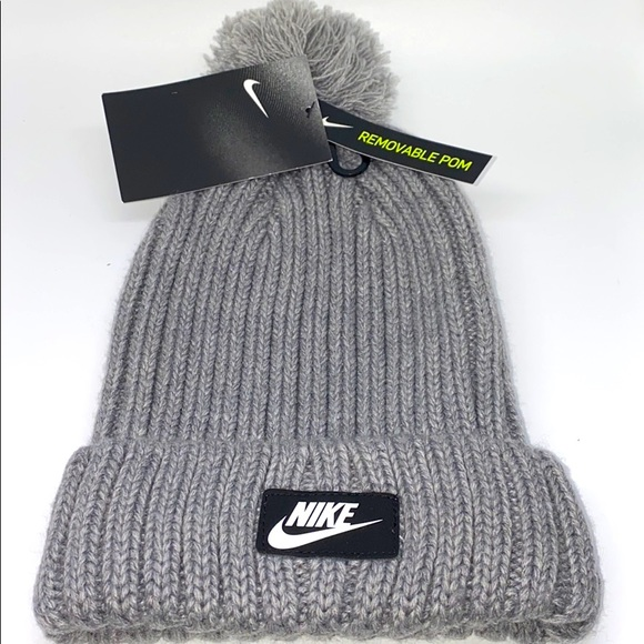Nike Hat with Removable Pom